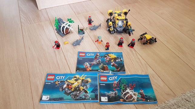 Klocki lego City nr zestawów 60091,60092+ zabawka gratis