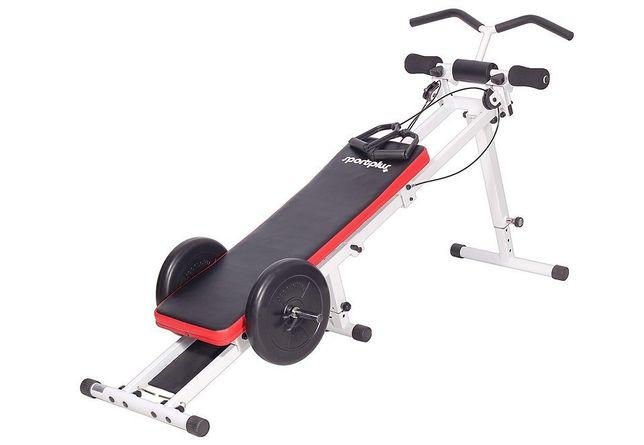 ŁAWKA ruchoma 40 ćwiczeń , biceps , triceps, barki, brzuch, plecy