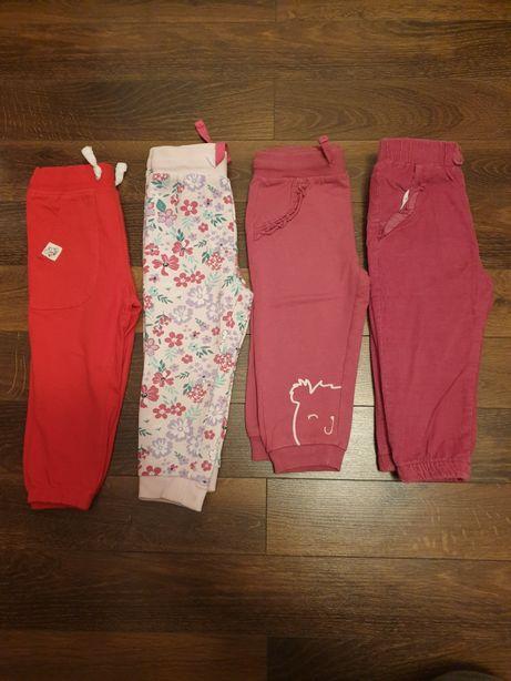 Spodnie/legginsy rozmiar 86