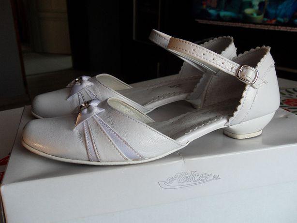Buty komunijne dla dziewczynki na wesele chrzciny komunia Roz. 33