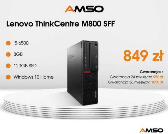 Komputer Lenovo ThinkCentre M800 SFF i5-6400/8GB/120SSD BN Win10H PL