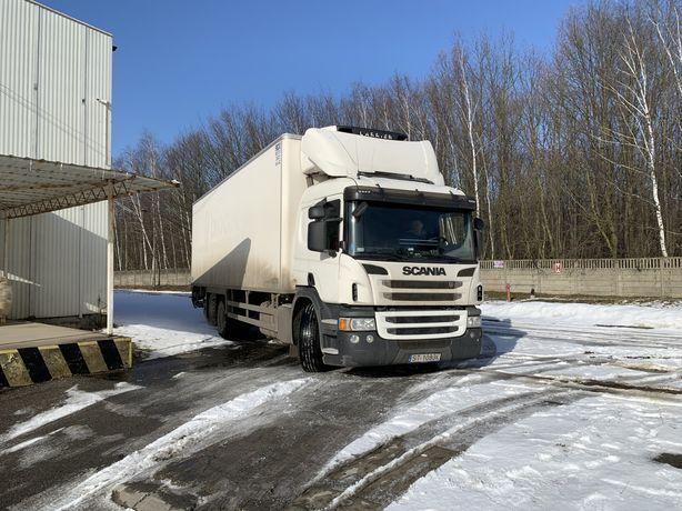 Scania P360 chłodnia 23 pal winda łózko