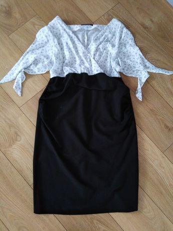 Sukienka ciążowa midi rozm. L