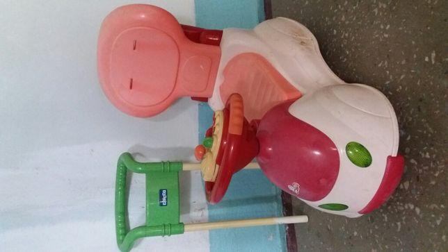 Chicco машинка толокар для дівчинки
