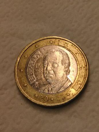 Moeda 1€ de Espanha com defeito raro