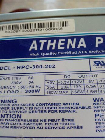 Fonte Athena power 300w usada