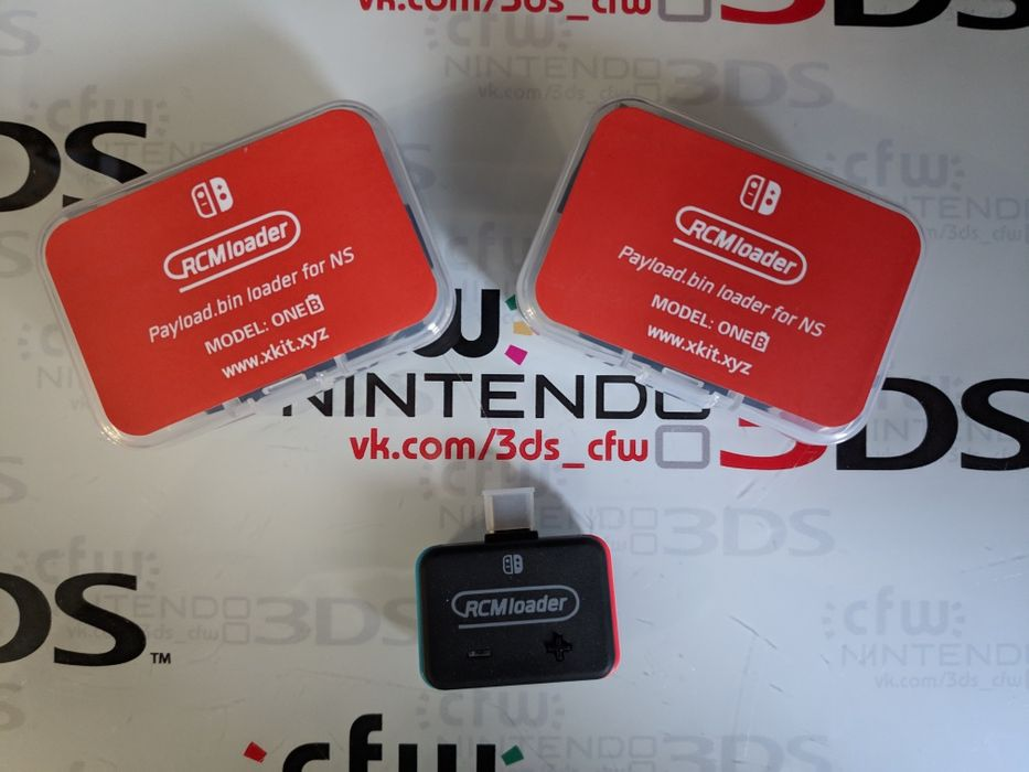 Донгл Rcmloader для прошивки Nintendo Switch, аналог SX OS PRO, r4s Дружковка - изображение 1
