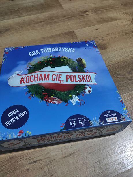 Gra Towarzyska Kocham Cię Polsko