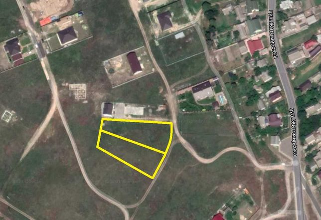 2 смежных участка под строительство, в пригороде Киева