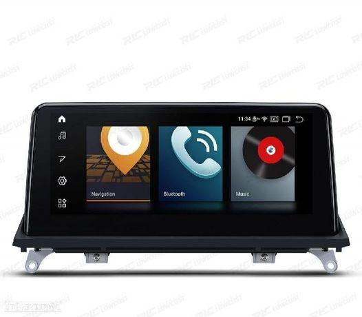 AUTO RADIO GPS ANDROID 10 BMW X5 E70 (11-13), X6 E71 (11-13)