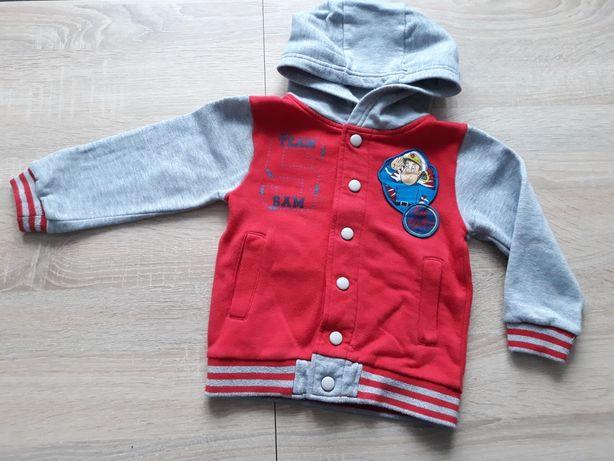 Bluza chłopieca czerwona Strażak Sam 2-3lata