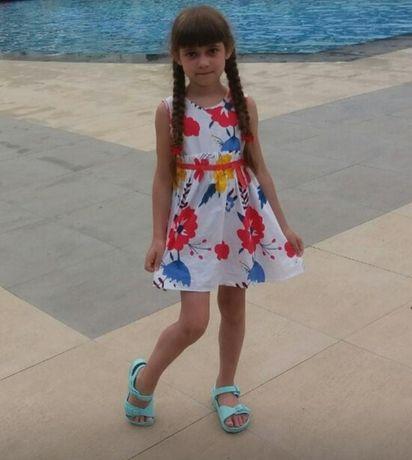 Летнее платье  для девочки Gloria Jeans , р. 110