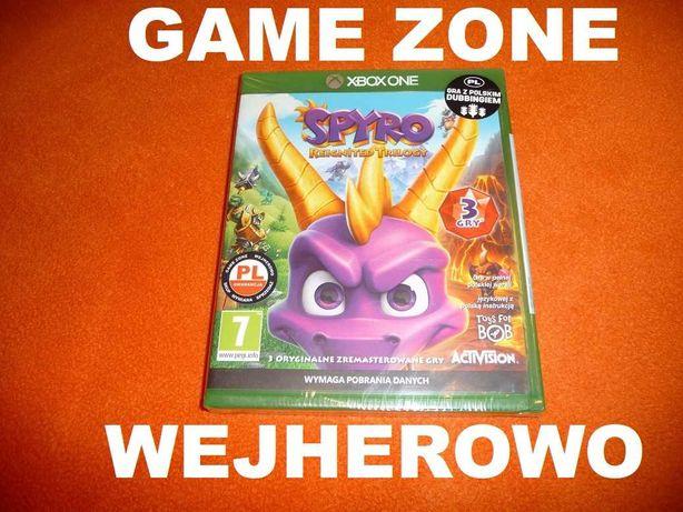 SPYRO Reignited Trilogy Xbox One + S + X = PŁYTA PL Dubbing = 3 gry