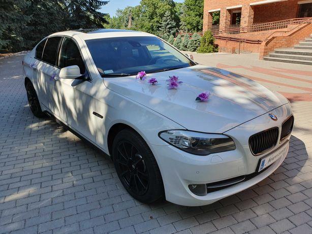 Samochód auto przejazd do ślubu BMW F10
