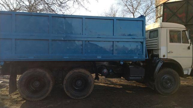 Камаз 45143 колхозник, МАЗ 5551