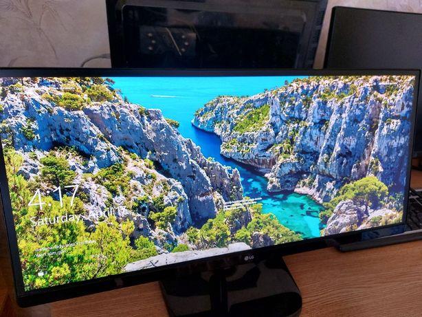 LG-25UM58 - 2560X1080 FHD 21:9 ULTRAWIDE 60Hz. Monitor
