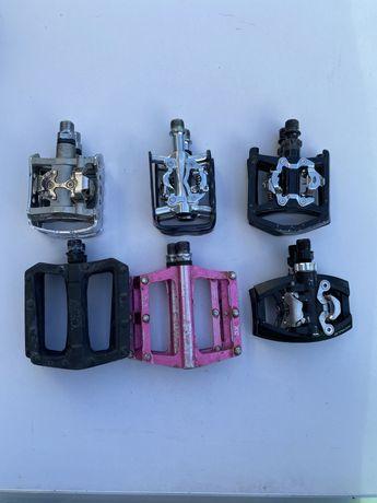 Педалі різні xt, cube, avid