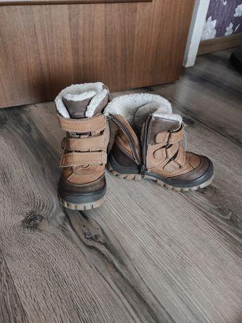 Кожаные сапоги,ботинки зимние