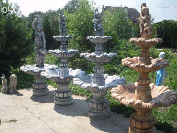 Fontanna ogrodowa trzy poziomy 200cm_kolory_okazja