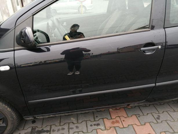 Drzwi lewe VW FOX lakier LC9Z
