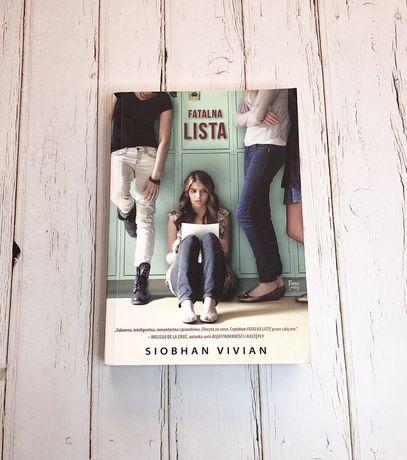 Fatalna lista - Siobhan Vivian