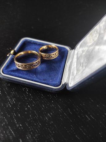 Obrączki złote ślubne