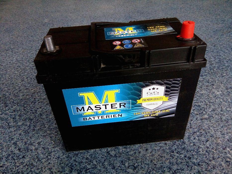 Akumulator MASTER VARTA 45Ah JAPAN P+ Sandomierz