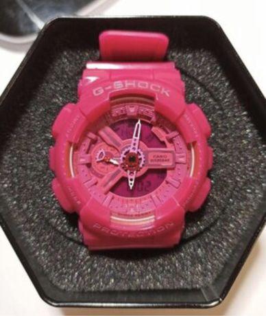 часы спортивные розовые