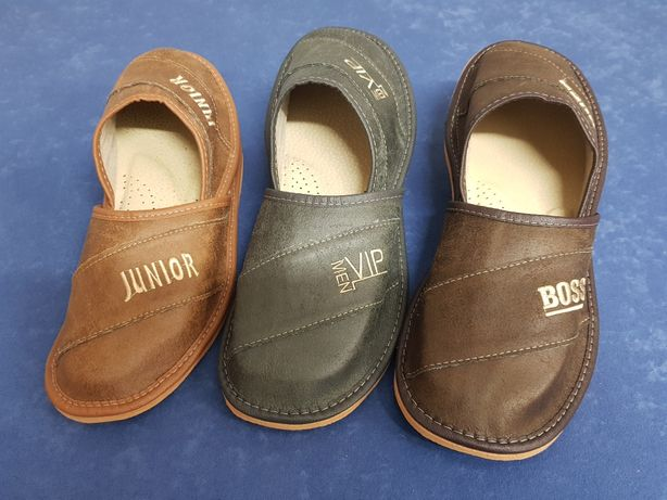 Pantofle góralskie, papucie