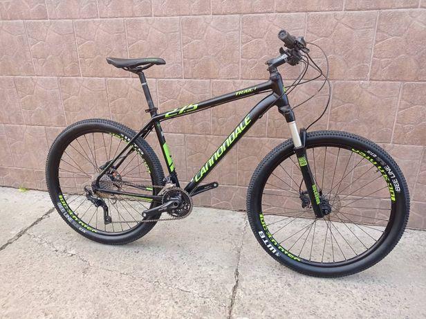 Велосипед Cannondale trail 1. Колеса 27.5. рама L. Сток. Вилка Rock Sh