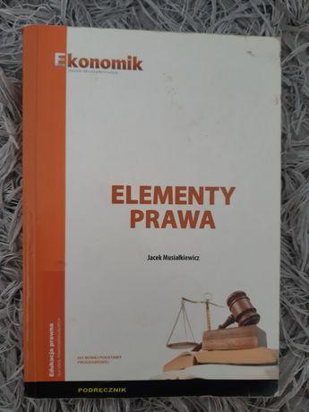 Elementy prawa - Ekonomik Jacek Musiałkiewicz