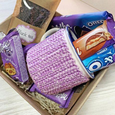 Подарочный бокс набор сладости коробка подарок