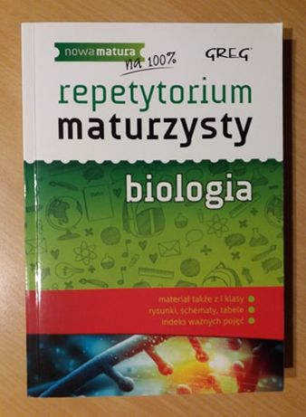 Repetytorium Maturzysty BIOLOGIA Greg Matura 2020