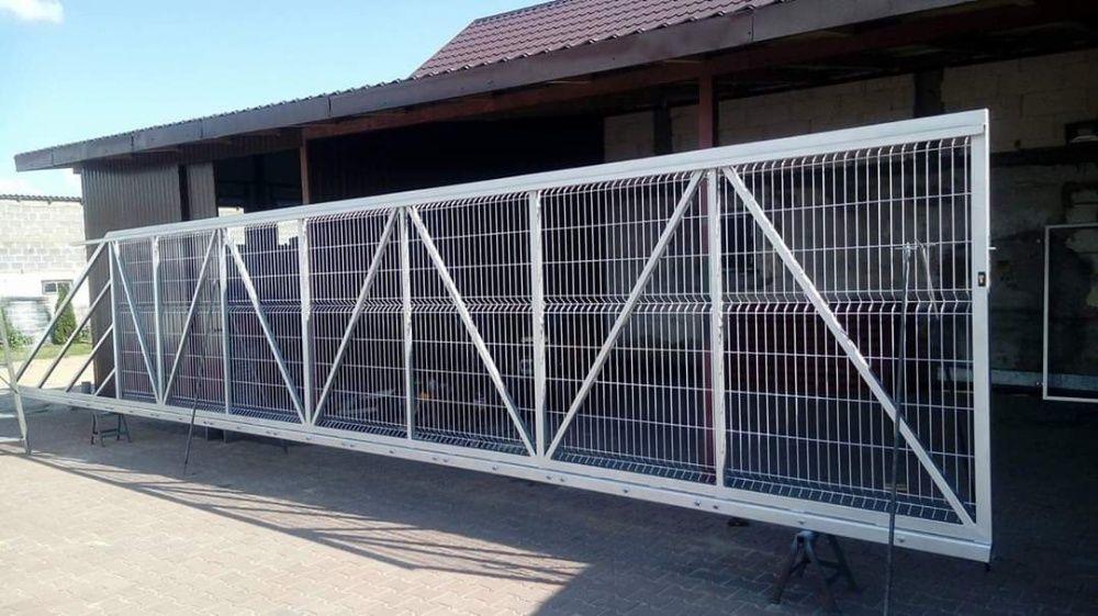 Brama przemysłowa, panelowa Zambrów - image 1