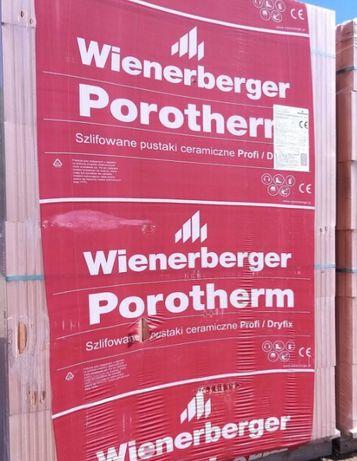 Pustak POROTHERM 15, P+W 25 profi/dryfixszlifowany