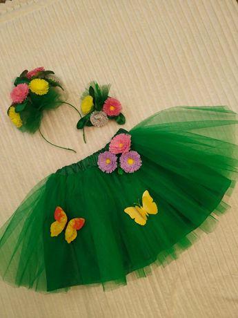 Карнавальный костюм цветок примула