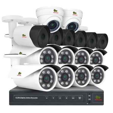 Камеры видеонаблюдения с установкой