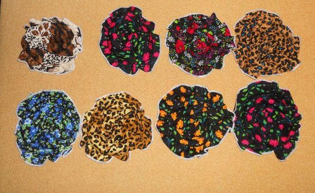 Летние трикотажные шапочки панамки беретики 26-40 см