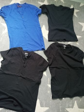Koszulki tshirty s, xs meskie