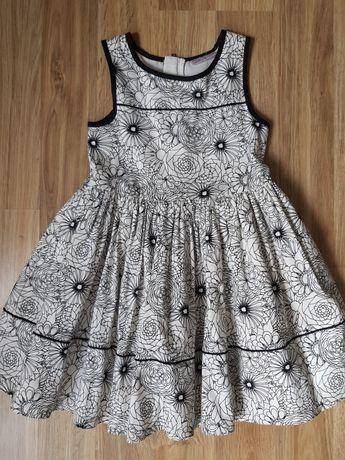 Śliczna sukienka Next rozmiar 116