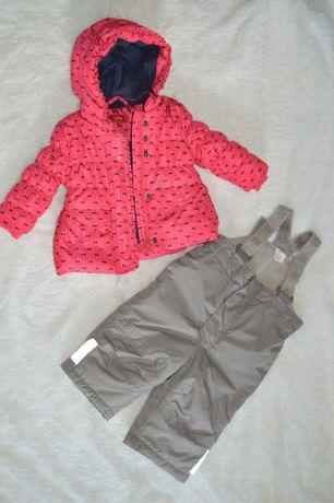 Продам зимнюю куртку и штанишки 68 размера