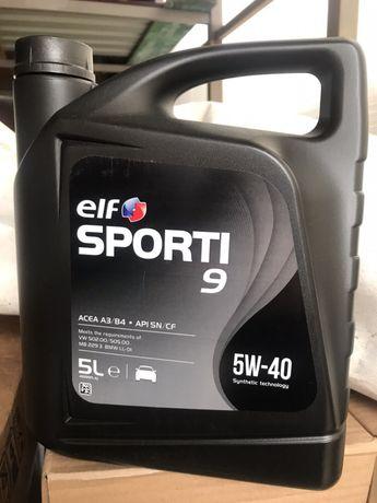 Масло автомобильное моторное ELF SPORTI 9 5W-40