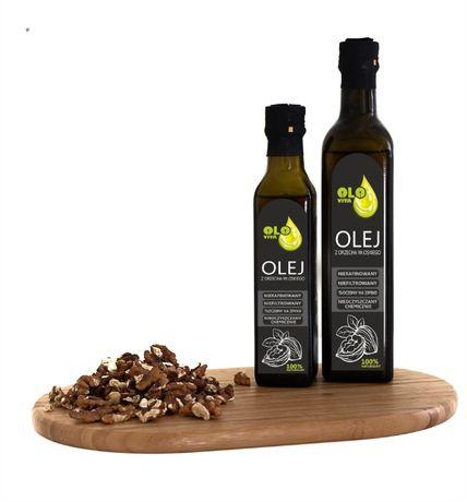 olej z orzecha włoskiego tłoczony na zimno 250ml