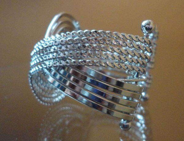 zegarek damski blogerski hit piękna szeroka bransoleta no