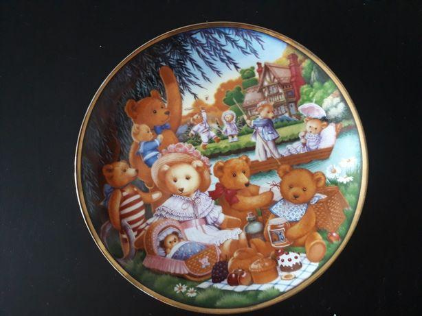 Talerz , bajka, porcelana, Anglia