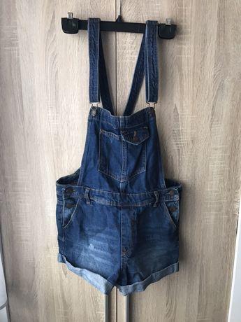 Ogrodniczki jeansowe rozmiar S