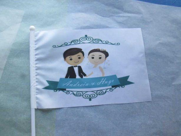 Bandeira de Mão para casamentos