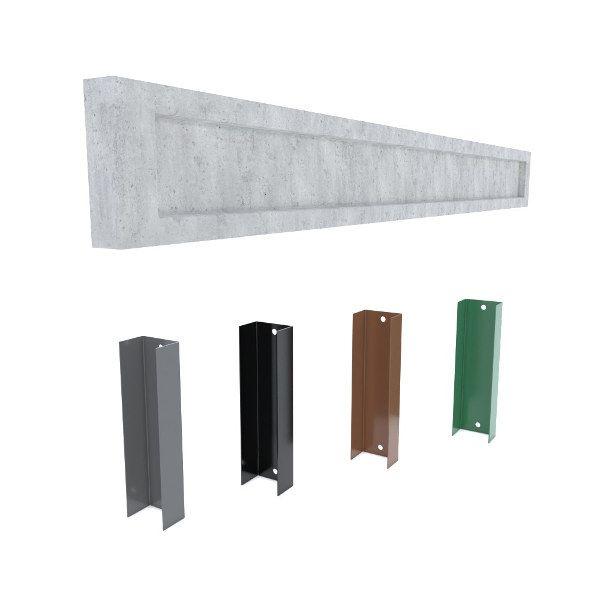 podmurówka deska 20x252cm pod łącznik metalowy tłoczona panel siatka Olkusz - image 1