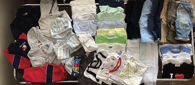 Zestaw paka Body spodenki śpiochy bluzy 62 cm spodnie Disney