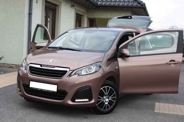 Peugeot 108 Klimatyzacja Alufelgi 2015r Zarejestrowany Zamiana 206 208